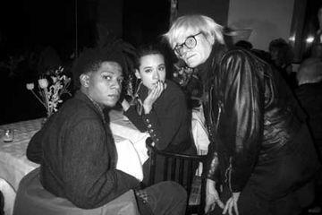 Basquiat, Tina Chow et Warhol