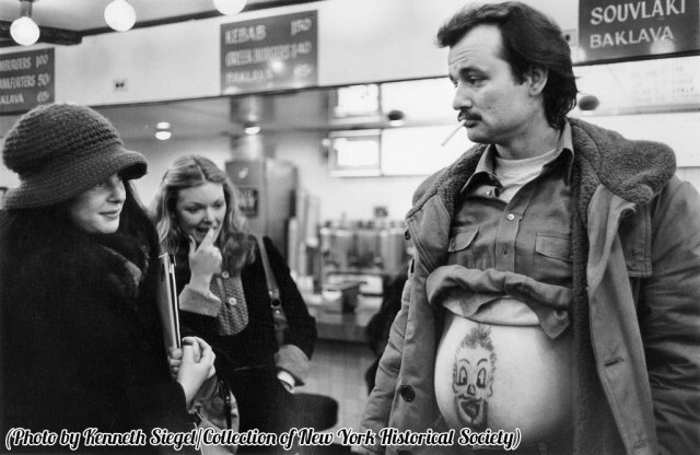 Bill Murray a NYC, anni 70