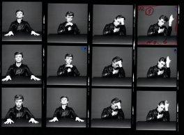 David Bowie, provini per Heroes, 1977. Fotografia di Masayoshi Sukita