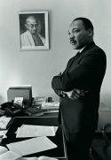 Martin Luther King Jr, Atlanta, Georgia, 1966. Fotografia di Bob Fitch