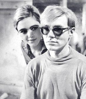 Edie Sedgwick e Andy Warhol