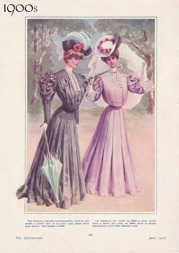 cheap for discount e6978 6b6d0 L'evoluzione della moda femminile dal 1900 al 1930 ...