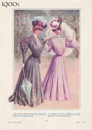 L'evoluzione della moda femminile dal 1900 al 1930