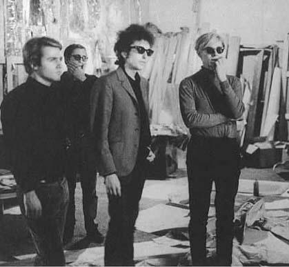 Gerard Malanga, Dylan e Warhol