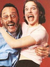 Jean Reno e una giovane Natalie Portman 1994