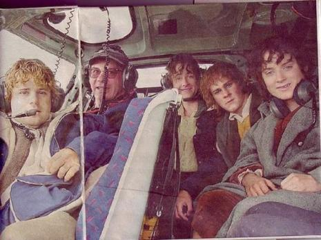 Il cast di Lord of the Rings