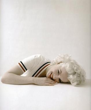 Marilyn Monroe, 1956. Fotografia di Milton Greene