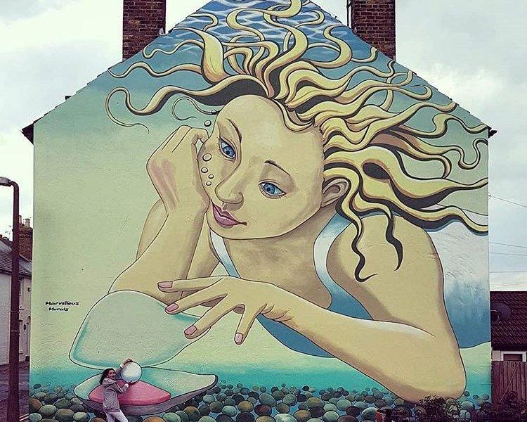 Marvellous Murals @Whitstable, UK