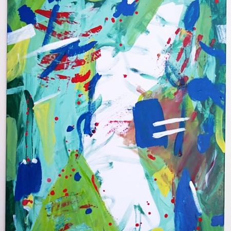 Materica (2019, 90x70) by Barbara Picci