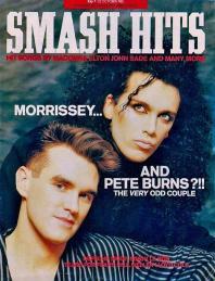Morrissey e Pete Burns - circa Ottobre 1985
