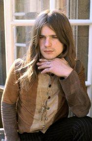 Ozzy Osbourne, 1974. Fotografia di Mick Rock