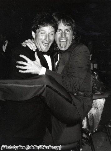 Robin Williams e John Ritter, 1979