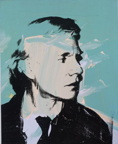 Self Portrait, Andy Warhol, 1972