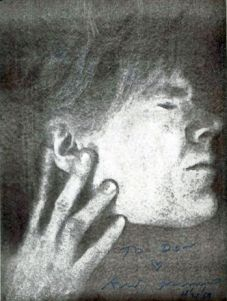 self portrait by Andy Warhol and the story of its creation which is part of its quirky appeal