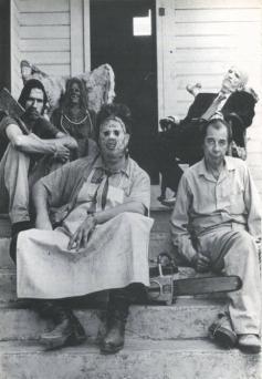 """Set di """"Non aprite quella porta"""", 1974"""