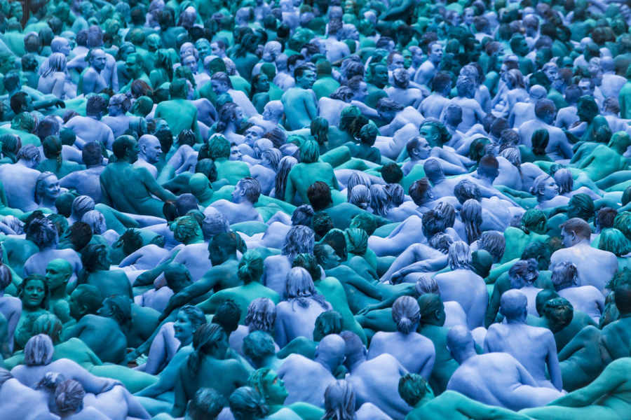 Spencer Tunick @Hull, Yorkshire