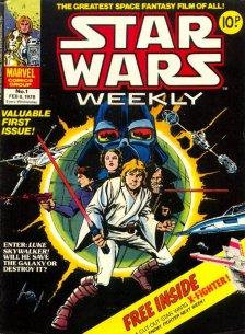 Star Wars settimanale Numero 1 1978