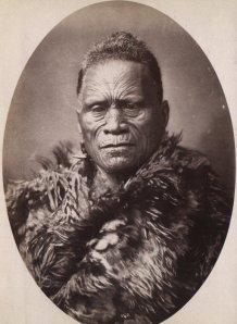 Tāwhiao, secondo Re Maori, tra il 1868 e il 1898