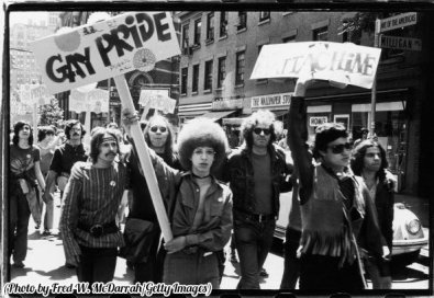 Moti di Stonewall, noti come Gay Liberation Day, New York, il 28 giugno 1970