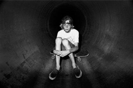 Tony Hawk, Sanoland, Cardiff, CA, 1981. Fotografia di J. Grant Brittain