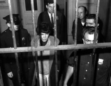 Valerie Solanas dopo esser stata arrestata