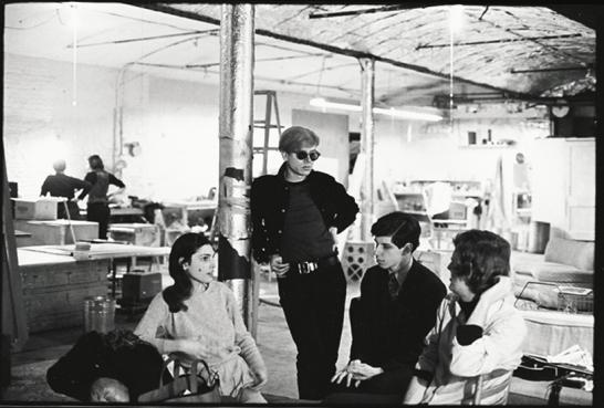 Warhol alla Factory