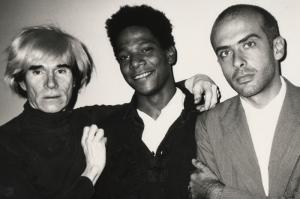 Warhol, Basquiat e Clemente
