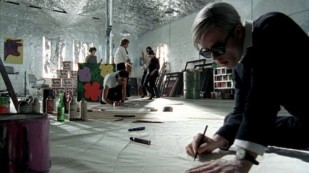 Warhol nella Factory
