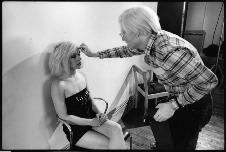 Andy Warhol e Debbie Harry
