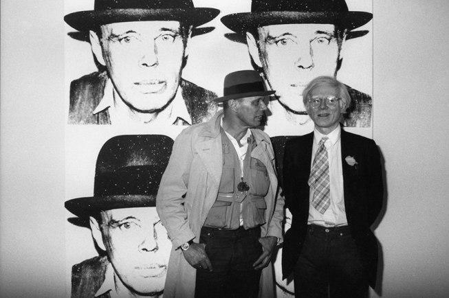 Andy Warhol e Joseph Beuys, 1980