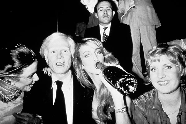 Andy Warhol, Jerry Hall allo Studio 54
