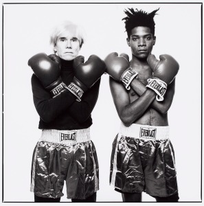 Warhol e Basquiat - The Ring