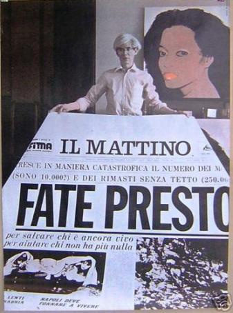 Warhol - Fate Presto. Napoli, 1980