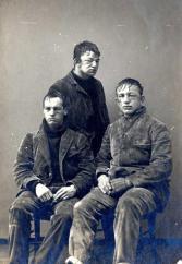 1893. Studenti di Princeton dopo una battaglia di palle di neve fra studenti del primo e del secondo anno