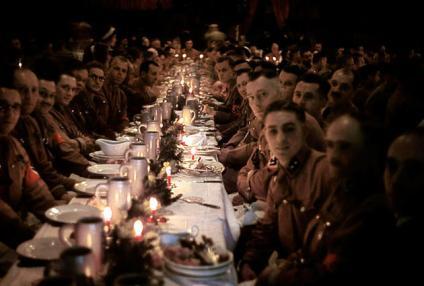 1941. Cena di Natale degli ufficiali e cadetti di Hitler