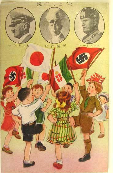27 Settembre 1940 - Seconda guerra mondiale patto tripartito, firmato a Berlino da Germania, Giappone e Italia