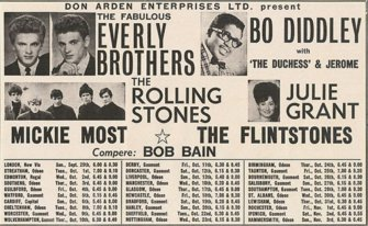 29 September 1963 - primo tour dei Rolling Stones