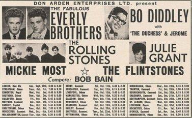 29 September 1963 - primo tour dei Rolling Stones