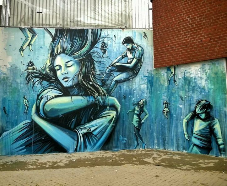 Alice Pasquini @Amburgo, Germania