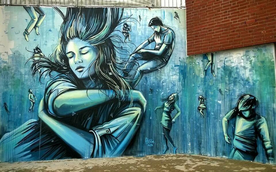 Alice Pasquini @Amburgo, Germania