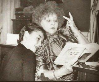 Audrey Hepburn e Colette