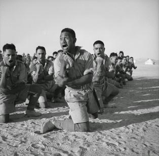 Battaglione Maori haka in Egitto, 1941