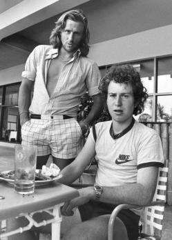 Björn Borg e John McEnroe, 1981