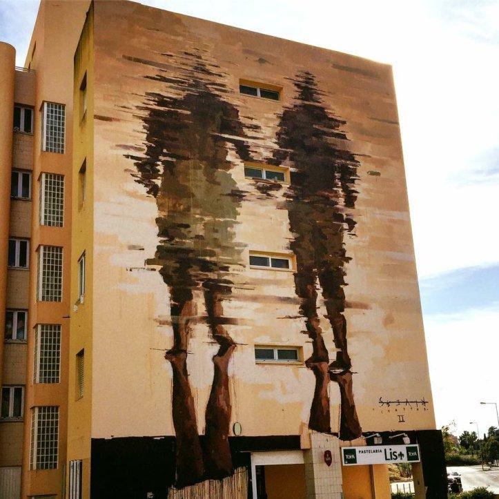 Borondo @Lisbona, Portogallo