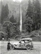 Cascate Multnomah, Oregon, 1918