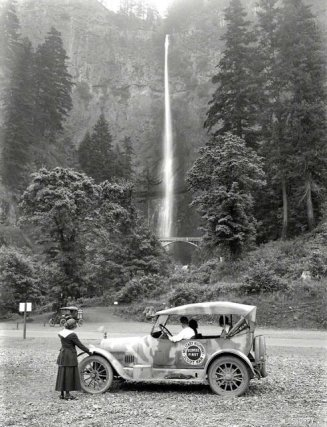 Cascate Multnomah, Oregon, 1918