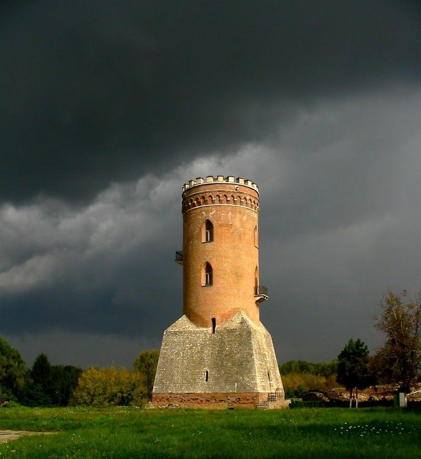 Chindia Tower a Targoviste, Romania, costruita da Vlad Dracula, nel 15 ° secolo