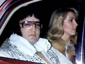 Elvis Presley e Linda Thompson