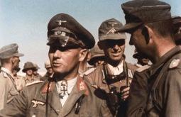 Erwin Rommel e il suo staff, Western Desert, 1942