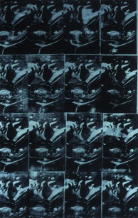 """""""Fallen Body"""" by Andy Warhol, dalla sua serie """"Death and Disaster"""", 1962-67"""